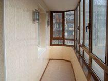 Отделка балкона в Ленинск-Кузнецком. Отделка лоджии